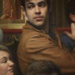 La Cruz del Jubileo   2016. Óleo sobre lienzo. 700 x 300 cms. Detalle personaje